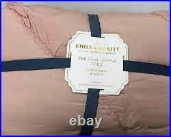 Pottery Barn Kids Emily & Meritt Ruffle Comforter Full/Queen NEW