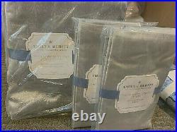 Pottery Barn Kids Emily and Meritt shimmer luxe velvet FULL QUEEN duvet 2 shams