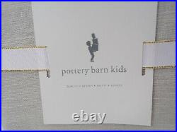 Pottery Barn Kids Evelyn Blackout Panels Drapes Curtains Gray 44x 84 S/2 #7395