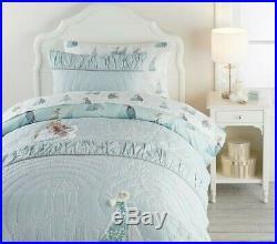 Pottery Barn Kids Frozen Queen Quilt Shams Sheets Pillow Bed Skirt Set NWT