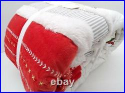 Pottery Barn Kids Grinch Cindy Lou Max Christmas Holiday Quilt Full Queen #4923C