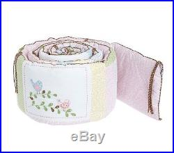 Pottery Barn Kids HAYLEY 5pc NURSERY CRIB Quilt Bumper Sheet Sham Skirt NEW NWT