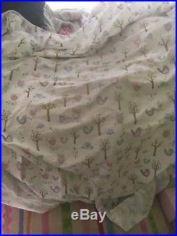 Pottery Barn Kids HAYLEY Owl Full Bedding Set Comforter, sheets and shams