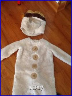 Pottery Barn Kids Halloween costume Max Where the Wild Things Are 12-24 Mo
