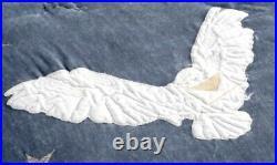 Pottery Barn Kids Harry Potter New NIP Hedwig Queen Quilt + 3 Euro Shams Owl