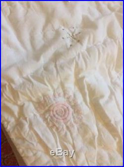 Pottery Barn Kids Isabelle Mermaid Full quilt Sheet shams Pillow Beach Princess
