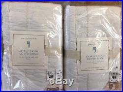 Pottery Barn Kids Isabelle Mermaid QUEEN Sheet Set F/Q Quilt Shams Pillow New