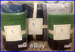 Pottery Barn Kids Knights and Dragons FULL quilt shams sheets 7 pc set