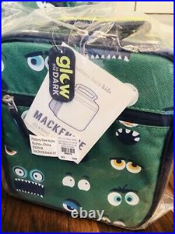 Pottery Barn Kids Large Backpack Lunch Box Water bottle Set No Mono Mackenzie