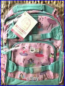 Pottery Barn Kids Large Backpack Pink Fairy Lunch Box Water bottle No Mono New
