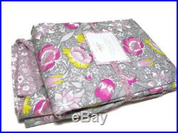 Pottery Barn Kids Liberty London Forest Road Floral Full Queen Duvet Cover New