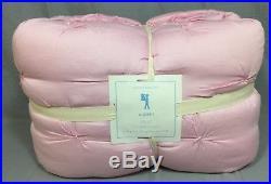 Pottery Barn Kids Light Pink Audrey Full/Queen Quilt