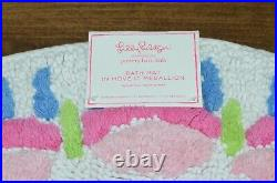 Pottery Barn Kids Lilly Pulitzer Bath Mat Rug in Move It Medallion NWT NEW 28
