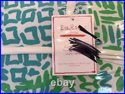 Pottery Barn Kids Lilly Pulitzer Home Slice Pineapple KING Comforter