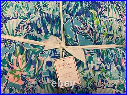 Pottery Barn Kids Lilly Pulitzer Pineapple Party King Comforter NEW