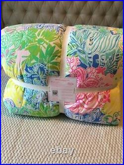 Pottery Barn Kids Lilly Pulitzer Reversible Cheek to Cheek Full / QN Comforter