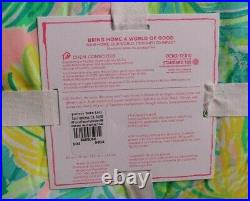 Pottery Barn Kids Lilly Pulitzer Reversible Local Color FQ comforter full queen