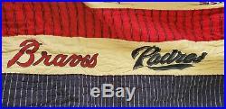 Pottery Barn Kids MLB Major Baseball National full-queen quilt & pillow sham new