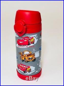 Pottery Barn Kids Mackenzie Large Backpack Gray Red Car Boys Bookbag Disney New
