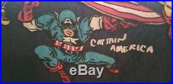 Pottery Barn Kids Marvel twin quilt & 1 sham