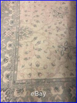 Pottery Barn Kids Monique Lhuillier Antique Printed 5 x 8 Wool RugBlush
