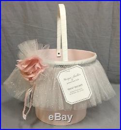 Pottery Barn Kids Monique Lhuillier Blush Fairy Halloween Costume 7-8+Treat Bag