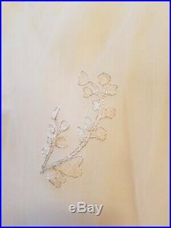Pottery Barn Kids Monique Lhuillier Gold Vine Cornice Tulle Sheers White #2963