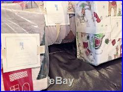 Pottery Barn Kids North Pole Full/Queen Quilt, Full Sheet Set, Shams QUICK SHIP