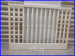Pottery Barn Kids Olivia Crib White Baroque-style Never Used, Mint Condition