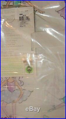 Pottery Barn Kids Organic Magical Fairy Full Sheet Set NIP