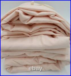 Pottery Barn Kids Organic Super Soft Sheet Set Pure Cotton Queen Pink #9805K
