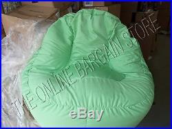 Pottery Barn Kids PB Teen Leanback Lounge Lounger Beanbag Chair Solid Green