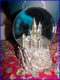 Pottery Barn Kids Pb Teen Harry Potter Hogwarts Musical Snow Globe, New