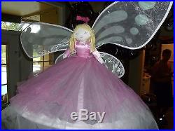 Pottery Barn Kids Pink Ballerina Canopy Girl Princess RARE Excel Cond