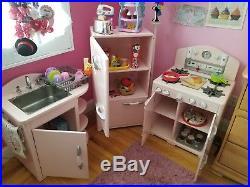 Pottery Barn Kids Pink Retro Play Kitchen