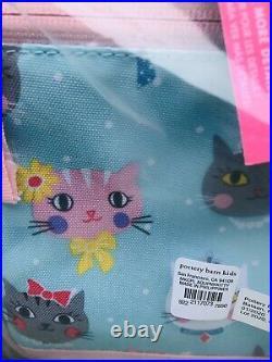 Pottery Barn Kids Princess Kitty Large Backpack Lunch Box Set No Mono Mackenzie