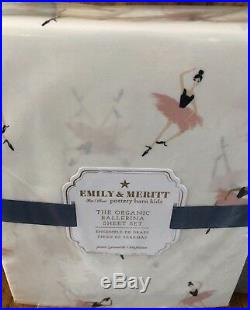 Pottery Barn Kids Shimmer Velvet Duvet Ballerina Sheet Set Emily Meritt Shams