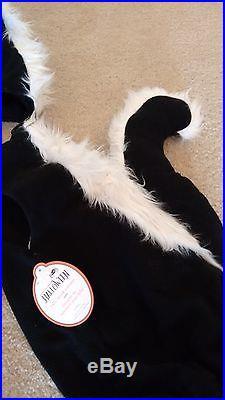 Pottery Barn Kids Skunk Costume Size 12-24 Months