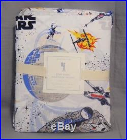 Pottery Barn Kids Star Wars Millennium Falcon Full/Queen Quilt+Full Sheet Set