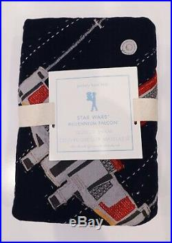 Pottery Barn Kids Star Wars Millennium Falcon Quilt, Sheets, Dining Set More