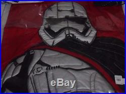 Pottery Barn Kids Star Wars The Force Awakens full quilt, shams, sheet & pillow
