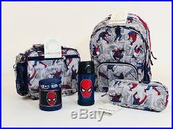 Pottery Barn Kids Superhero Backpack Boys Small Spiderman