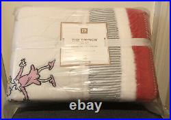Pottery Barn Kids Teen The Grinch CHRISTMAS QUILT Twin New