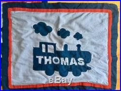 Pottery Barn Kids Thomas & Friends Thomas the Tank Engine Full sheet set quilt