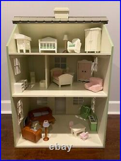Pottery Barn Kids Westport Dollhouse with Furniture