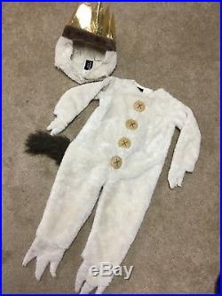 Pottery Barn Kids Where The Wild Things Are Max Halloween Costume EUC 2T 3T