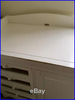 Pottery Barn Kids White Changing Table and Dresser (Slightly used)
