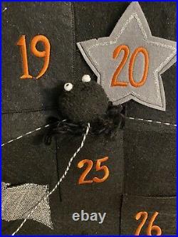 Pottery Barn Kids halloween countdown