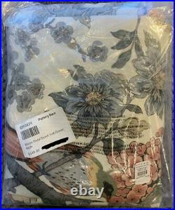 Pottery Barn Multi Bloom Floral Duvet Cover, Full/Queen, Free Shipping