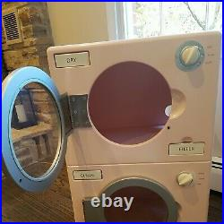 Pottery Barn Retro Pink Washer/Dryer Retired for pretend play child size